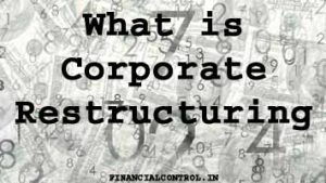 What is Corporate Restructuring? (Time to change)