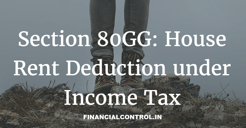 deduction under section 80gg
