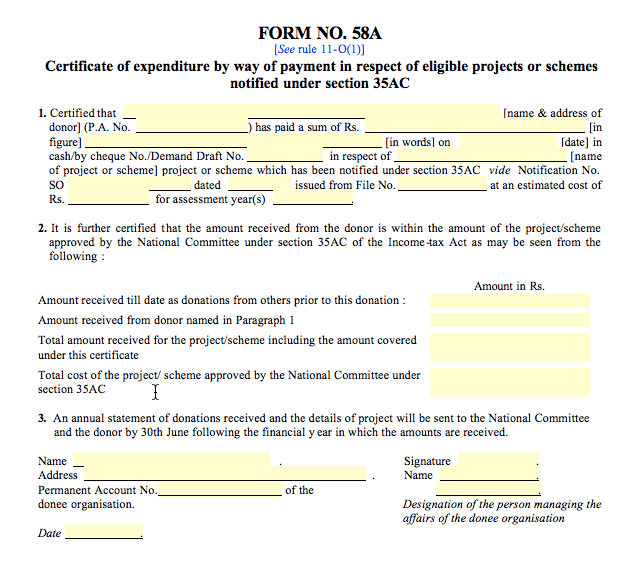 Form-58A-Format