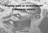 paying debt or investment
