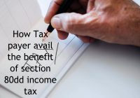 section 80dd income tax deduction
