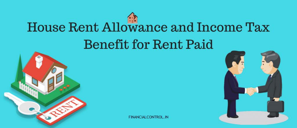 house rent allowance exemption