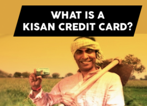 Kisan credit card – Affordable credit to Indian farmers