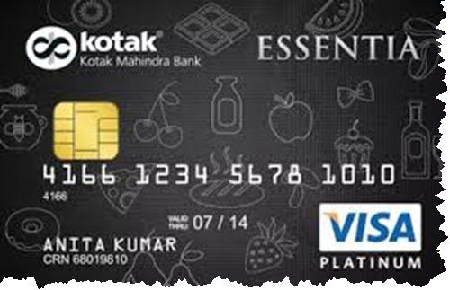Kotak EssentiaPlatinum Credit Card Review