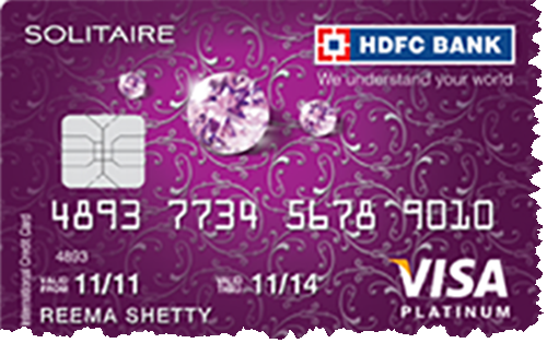 HDFC Bank solitaire credit card