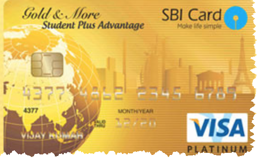 sbi student plus advantage card