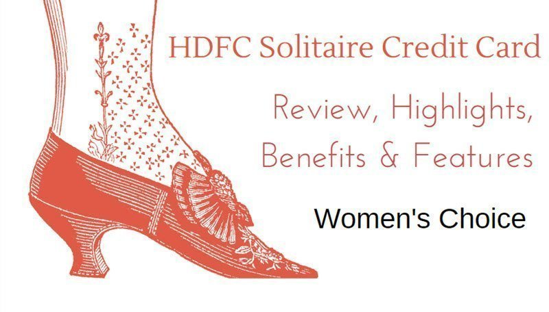 HDFC Solitaire Credit Card