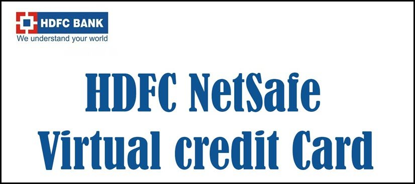 HDFC NetSafe Virtual Credit Card