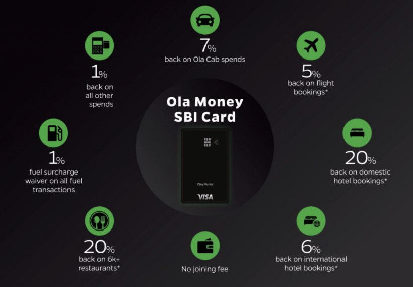 Ola card benefits