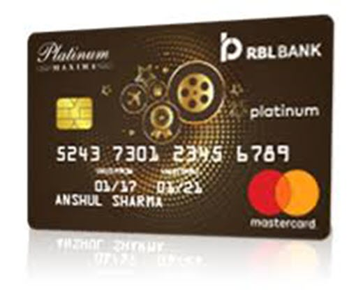 RBL Bank Platinum Maxima Credit Card