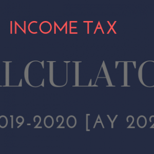 income tax calculator excel