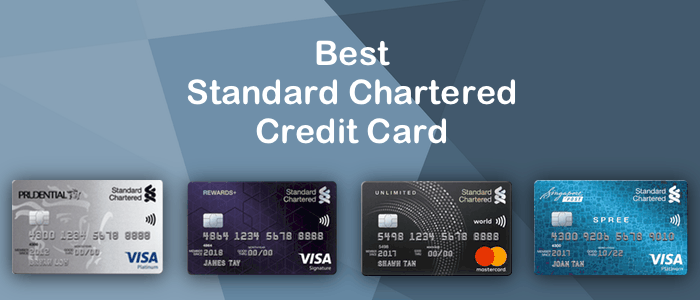 Top standard chartered credit card in india