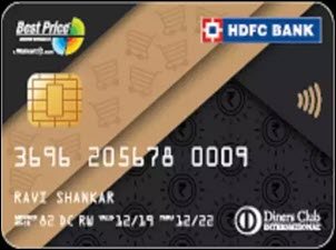 HDFC Best Price Save Smart Credit Card