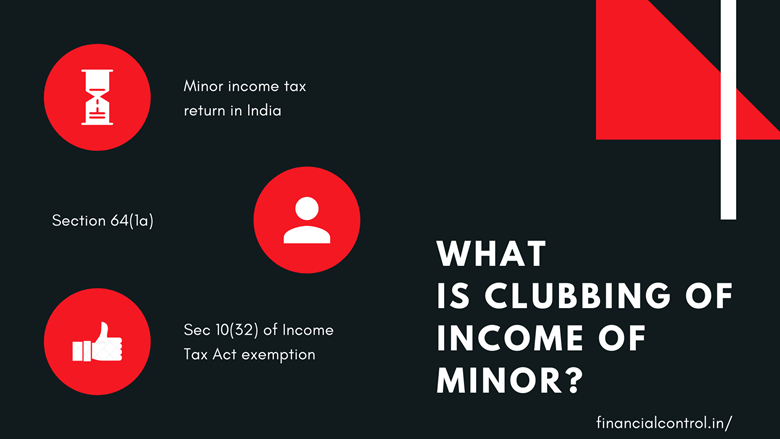 Minor income tax return in India