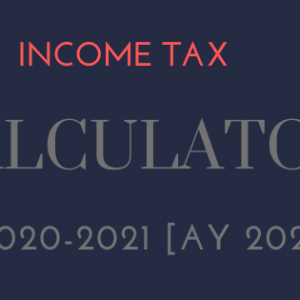 income tax calculator 2020 excel