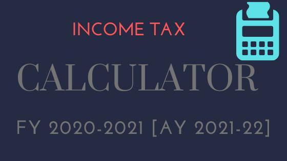 income tax calculator 2020 excel